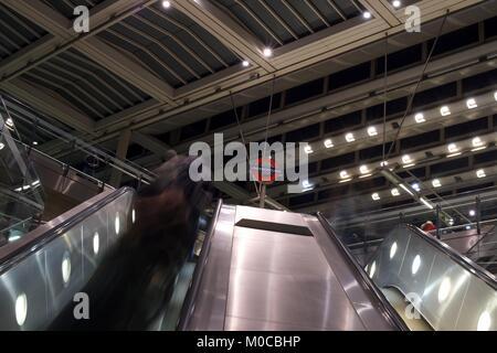London Underground - Stock Photo