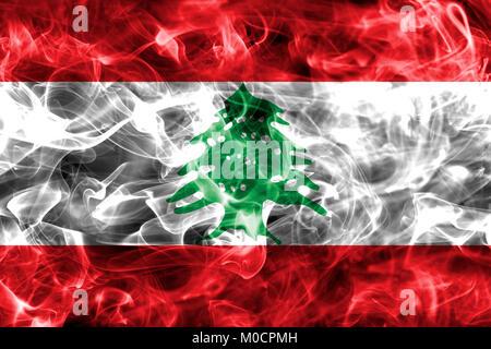 Lebanon smoke flag