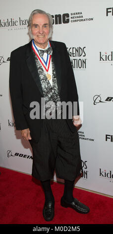 Beverly Hills, USA. 19th Jan, 2018. Burt Rutan attends the 15th Annual Living Legends Of Aviation Awards at The - Stock Photo