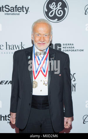 Beverly Hills, USA. 19th Jan, 2018. Buzz Aldrin attends the 15th Annual Living Legends Of Aviation Awards at The - Stock Photo