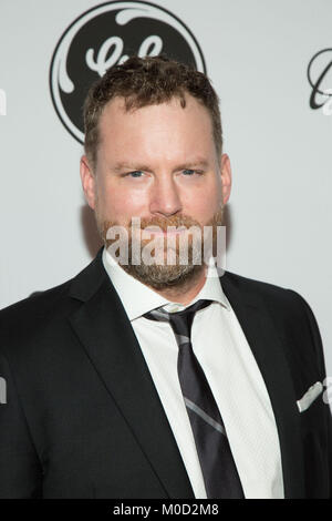 Beverly Hills, USA. 19th Jan, 2018. Patrick Gilmore attends the 15th Annual Living Legends Of Aviation Awards at - Stock Photo