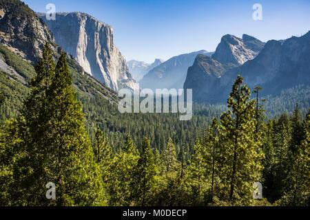 Yosemite Valley, Yosemite National Park, California, USA. - Stock Photo