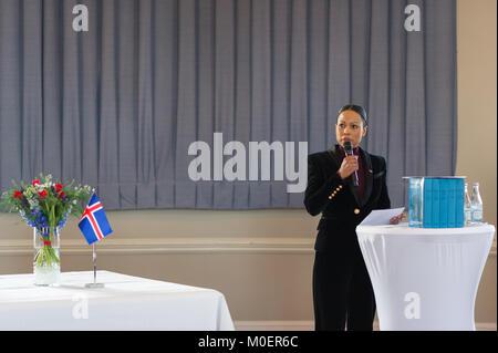 Stockholm, Sweden, 19th January, 2018.  From 17 to 19 January, Iceland's President Guðni Thorlacius Jóhannesson, visiting Sweden.