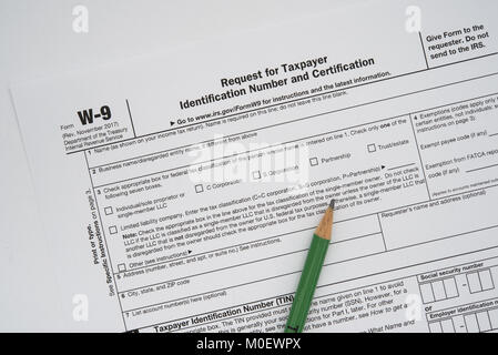 Form W-9, Request for Taxpayer Identification Number (TIN) and Stock ...