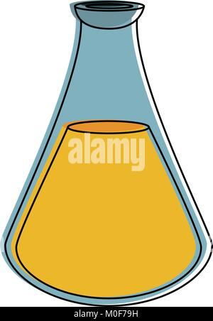 Spa oil massage bottle - Stock Photo