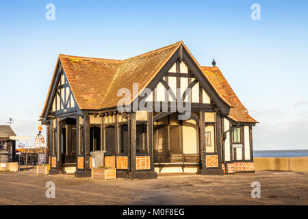The grade 1 listed building Moot Hall, Aldeburgh, Suffolk UK - Stock Photo