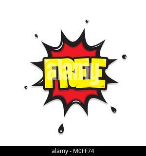 free icon comic - Stock Photo