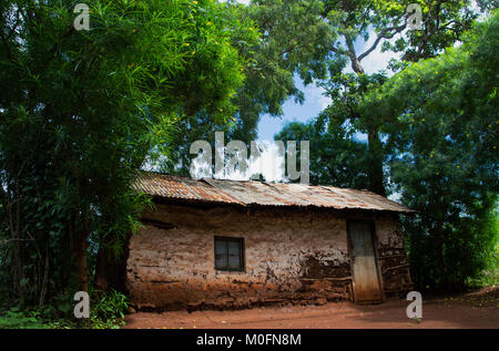 Houses in Africa - Stock Photo
