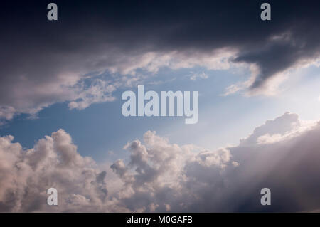 Sky with Clouds - Wolkenhimmel - Stock Photo