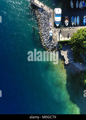 Harbours from the sky - Stock Photo