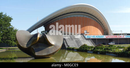 House of the cultures of the world, HKW, former, Berliners, convention hall, pregnant oyster, world culture house, - Stock Photo