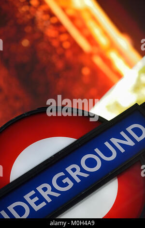 Piccadilly Circus, London, United Kingdom - Stock Photo