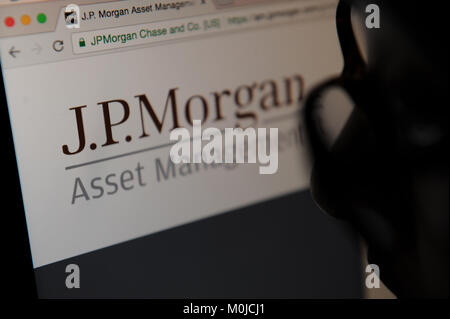 JP Morgan - Stock Photo