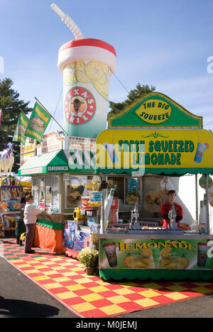 The Topsfield Fair, Topsfield, Massachusetts, USA - Stock Photo