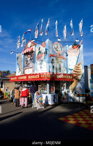 The Topsfield Fair, Topsfield, Massachusetts - Stock Photo