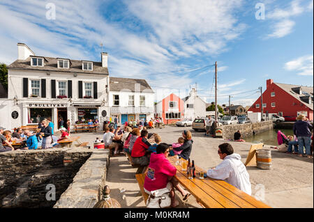 Crookhaven, a picturesque village popular with tourists in West Cork, Ireland. - Stock Photo
