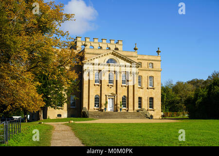 General view of Kings Weston House in Bristol on a sunny clear day. - Stock Photo
