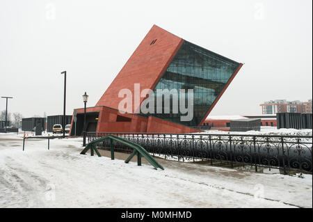 Gdansk, Poland. 23rd Jan, 2018. A general view of the World War 2 Museum.The world war 2 museum in the Polish city - Stock Photo