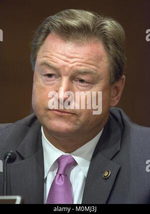 January 23, 2018 - Washington, District of Columbia, United States of America - United States Senator Dean Heller - Stock Photo