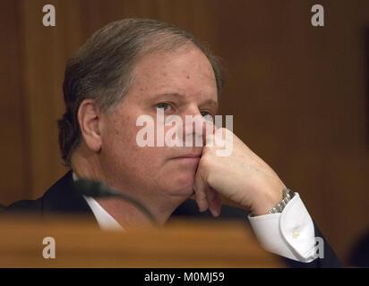 January 23, 2018 - Washington, District of Columbia, United States of America - United States Senator Doug Jones - Stock Photo