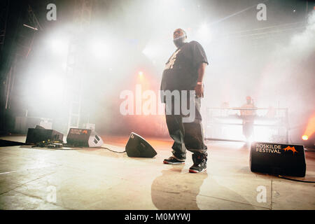The American rapper Killer Mike performed at the Cosmopol Stage at Roskilde Festival 2013. The American rapper Killer - Stock Photo