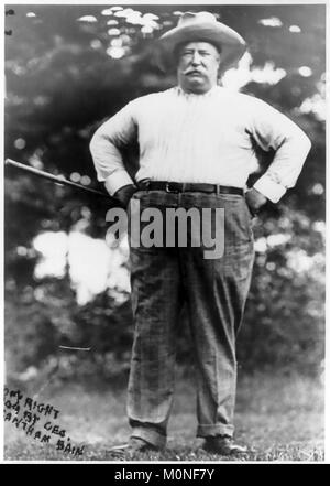 WILLIAM HOWARD TAFT (1857-1930) 27th President of the United States, about 1910 - Stock Photo