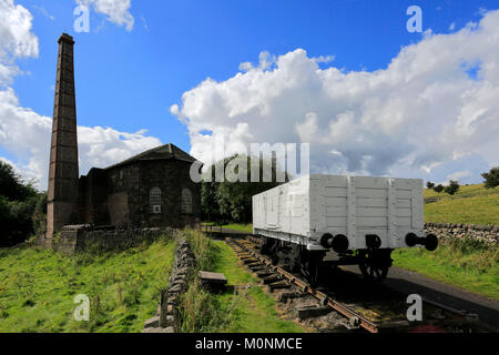 The Middleton Top Countryside Centre, High Peak Trail, Middleton by Wirksworth, Peak District National Park, Derbyshire, - Stock Photo