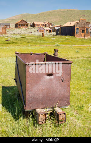 Image from Bodie State Historic Park near Mono Lake and Bridgeport, California. - Stock Photo