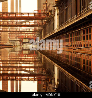 Zollverein Coking Plant,Essen,Ruhr Area,North Rhine-Westphalia,Germany - Stock Photo