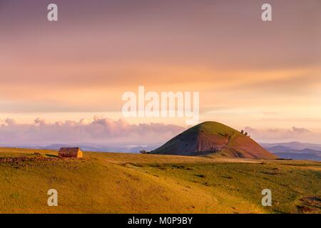 France,Lozere,Les Causses et les Cevennes,cultural landscape of the Mediterranean agro pastoralism,listed as World - Stock Photo