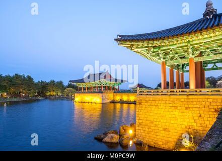 South Korea,North Gyeongsang province,Gyeongju National Park,Gyeongju,Gyeongju Historic Areas (UNESCO World Heritage - Stock Photo