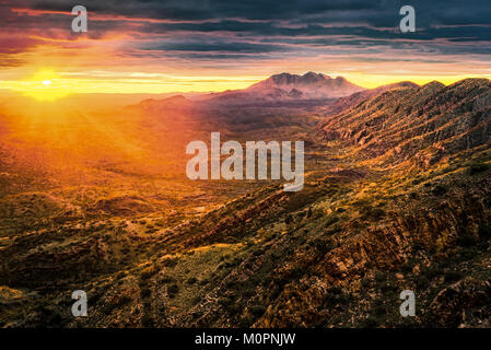 West Macdonnell Ranges, Northern Territory - Stock Photo