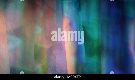 Muted azure abstract. 3D rendering - Stock Photo