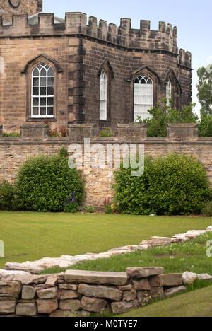 Auckland Castle, Bishop Auckland, County Durham - Stock Photo