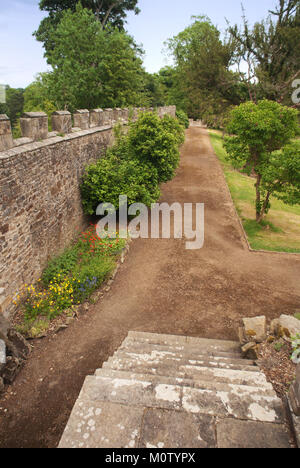 Grounds of Auckland Castle, Bishop Auckland, County Durham - Stock Photo