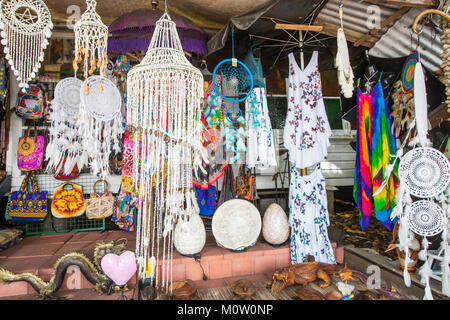 General store on macrossman street in Port Douglas selling a range of eclectic goods and bric a brac, Port Douglas,Queensland - Stock Photo