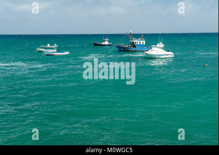 Punta Mujeres, municipality of Haría, Las Palmas province of northern Lanzarote, Canary Islands, Spain - Stock Photo