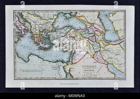 1799 bible tract society map turkey with reference to the countries mentioned in the bible