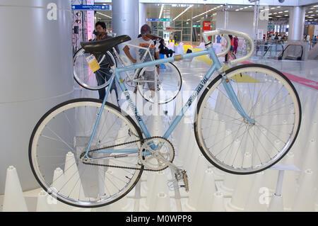 Bangkok, Thailand - November 23, 2012: Vintage bicycle TOMMASINI display at A Day Bike Fest 2012, Bangkok - Stock Photo