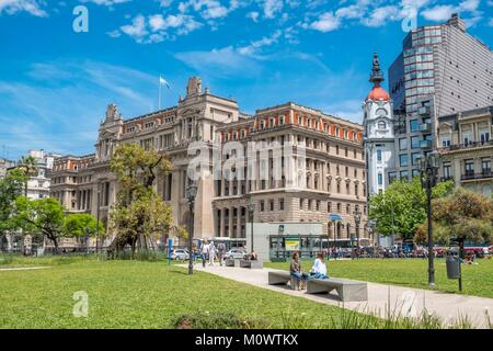 Argentina,Buenos Aires province,Buenos Aires,Tribunales,plaza Lavalle - Stock Photo
