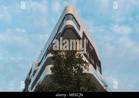hadid apartments in city life, milan , italy - Stock Photo
