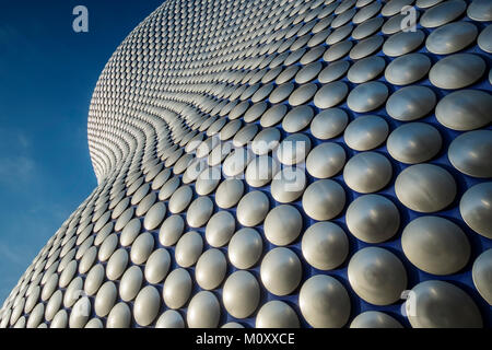The Selfridges Bullring Shopping Mall in Birmingham - Stock Photo