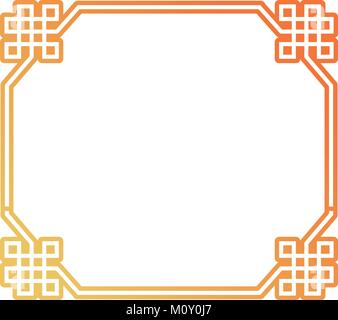 octagonal frame  design - Stock Photo