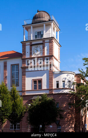 Germany, Cologne, planetarium and observatory of the gymnasium Bluecherstrasse in the district Nippes.  Deutschland, - Stock Photo