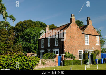 Ivy House, a grade II listed building, in Hedon, East Yorkshire, England - Stock Photo