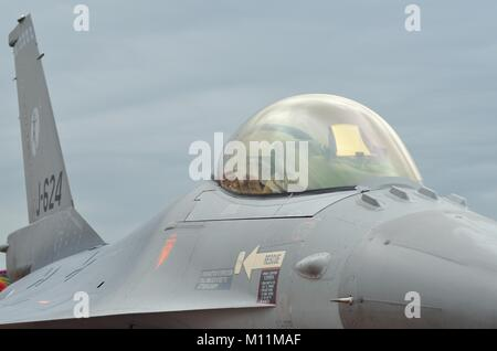 General Dynamics F-16AM, Royal Netherlands Air Force - Stock Photo