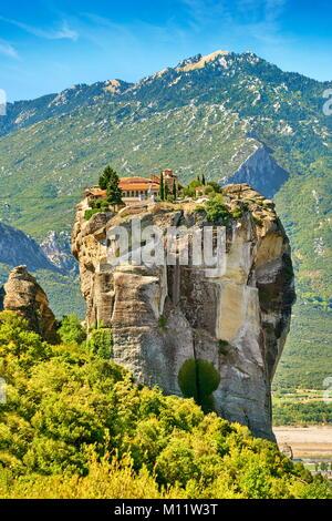 Holy Trinity Monastery, Meteora, Greece - Stock Photo