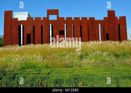 Milan, Milano, Hangar Bicocca museum modern art gallery - Stock Photo