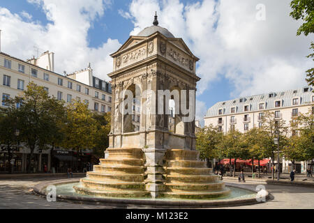 Fontaine des Innocents,Square des Innocents,Paris,France - Stock Photo