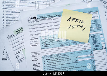 Income Tax Forms Background Stock Photo 80598667 Alamy